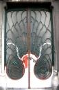 Входная кованая дверь