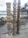 Кованый столб 21