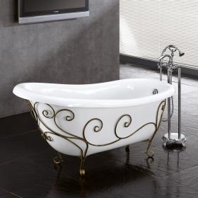 Кованая подставка под ванну №2