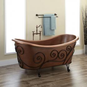 Кованая подставка под ванну №3